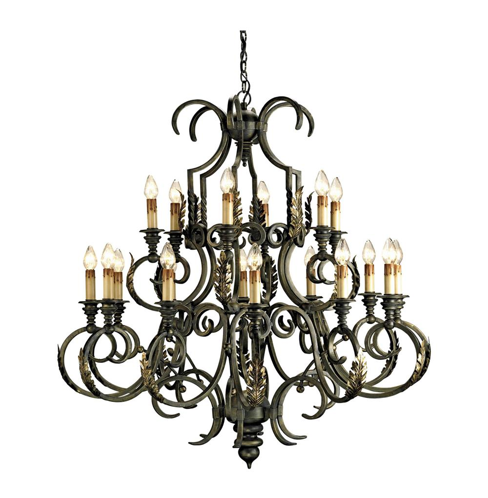 Intricately Crafted Chandelier