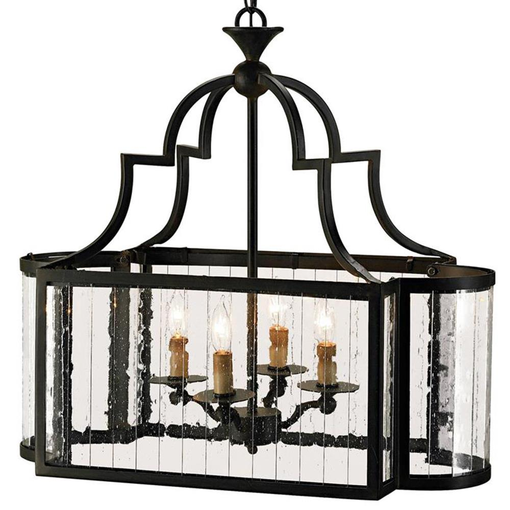 Rectangular Wrought Iron Chandelier Pictures Of Dining: Marion Wrought Iron Rectangle 4 Light Island Lantern