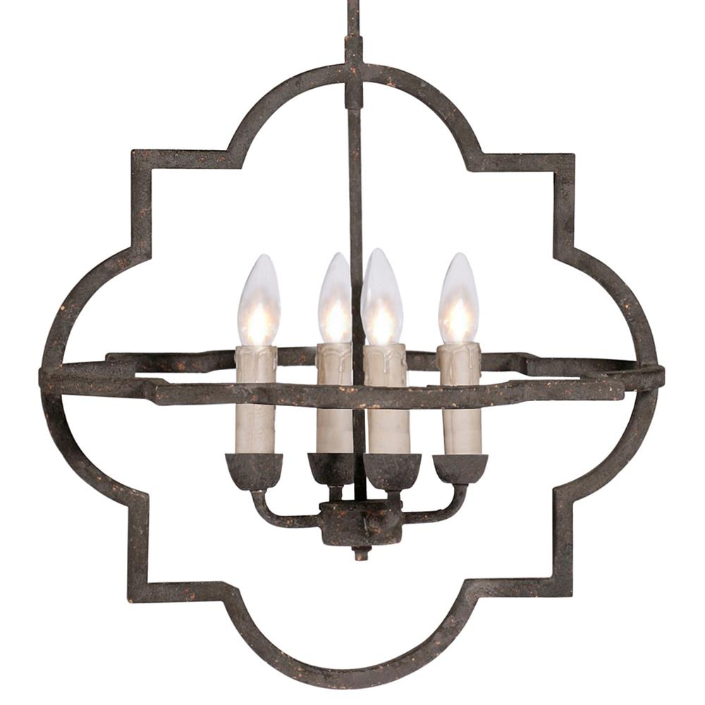 Athena french country quatrefoil dark rusted iron chandelier athena french country quatrefoil dark rusted iron chandelier kathy kuo home mozeypictures Choice Image