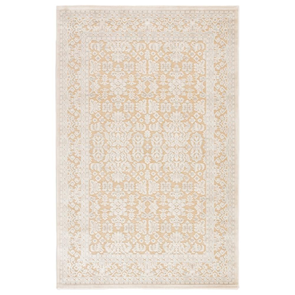 thea modern blue brown damask border pattern rug 7 6 x 9 6