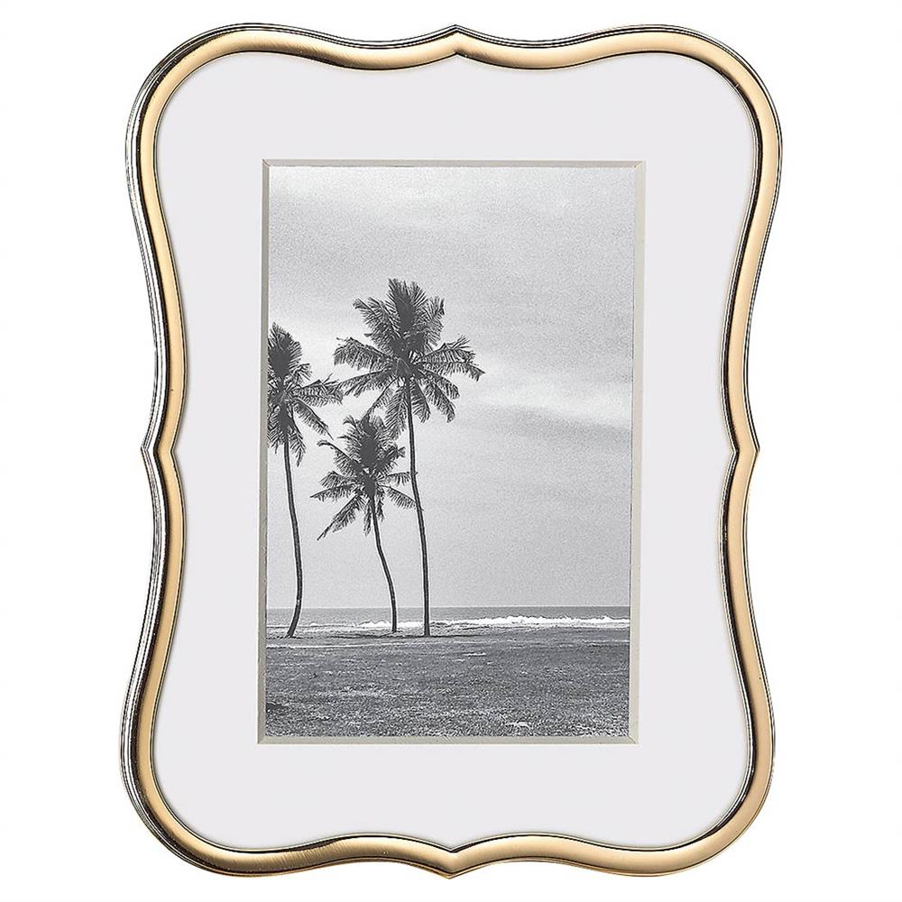 Lenox Kate Spade New York Crown Point Gold 4 X 6 Frame Kathy Kuo