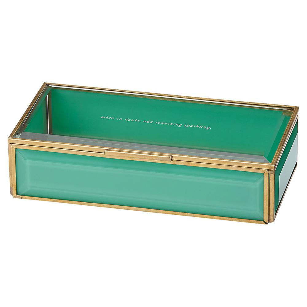 Lenox Kate Spade New York Out Of The Box Turquoise Jewelry Box | Kathy Kuo  Home