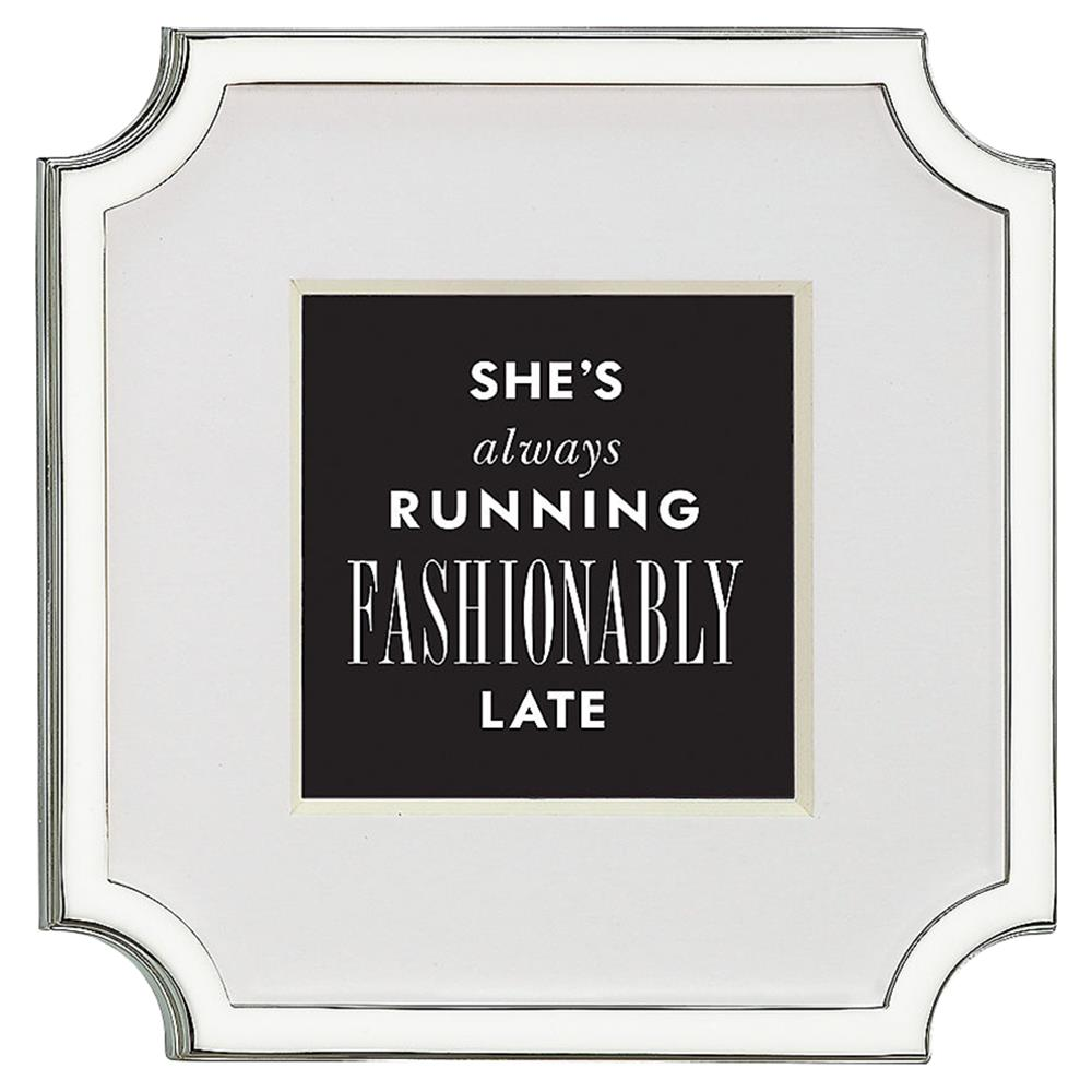 Lenox Kate Spade New York Silver Plated Frame Kathy Kuo Home