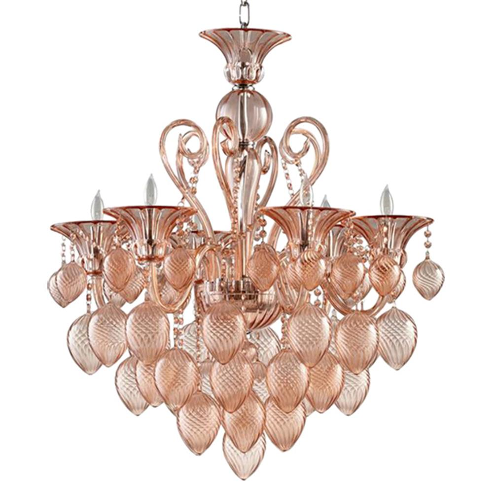 vetri chandelier at shop thank arte striulli products strive online murano d glass rosa you chandeliers