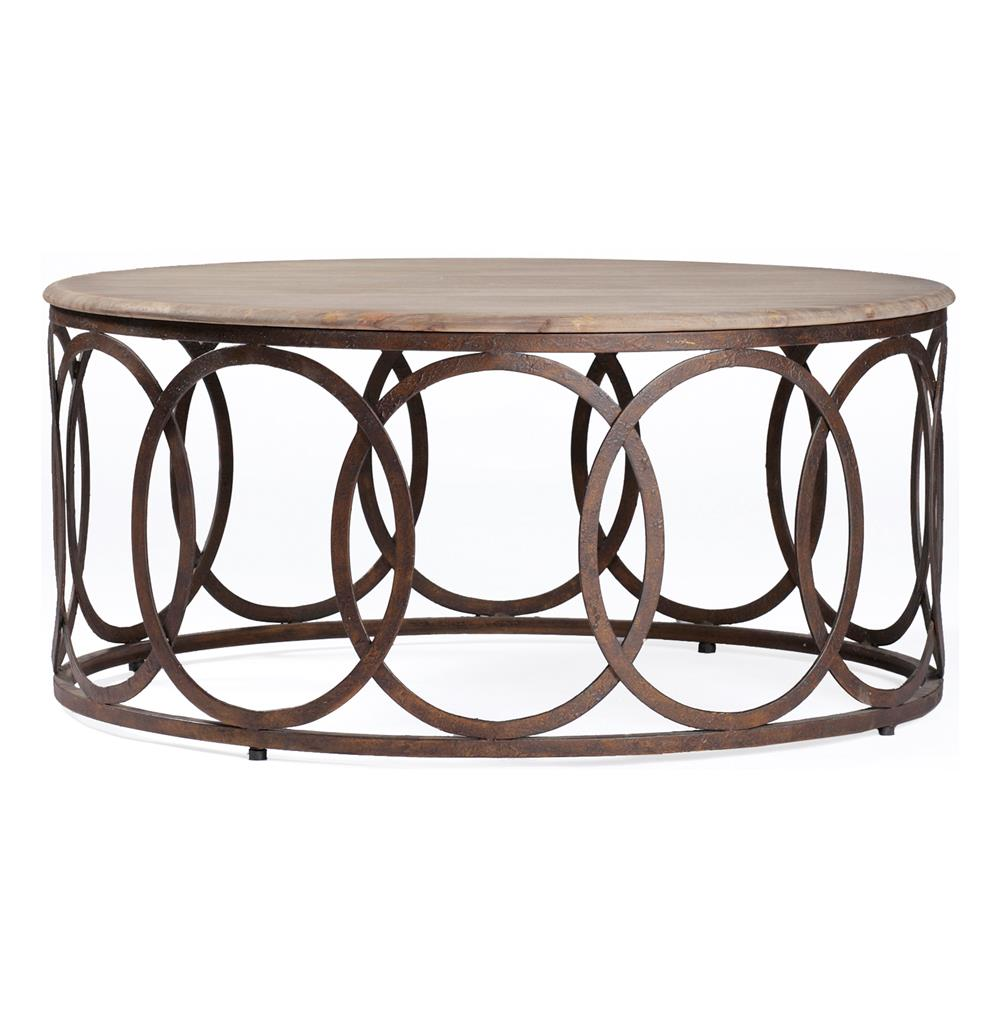 Steel Coffee Table Circles