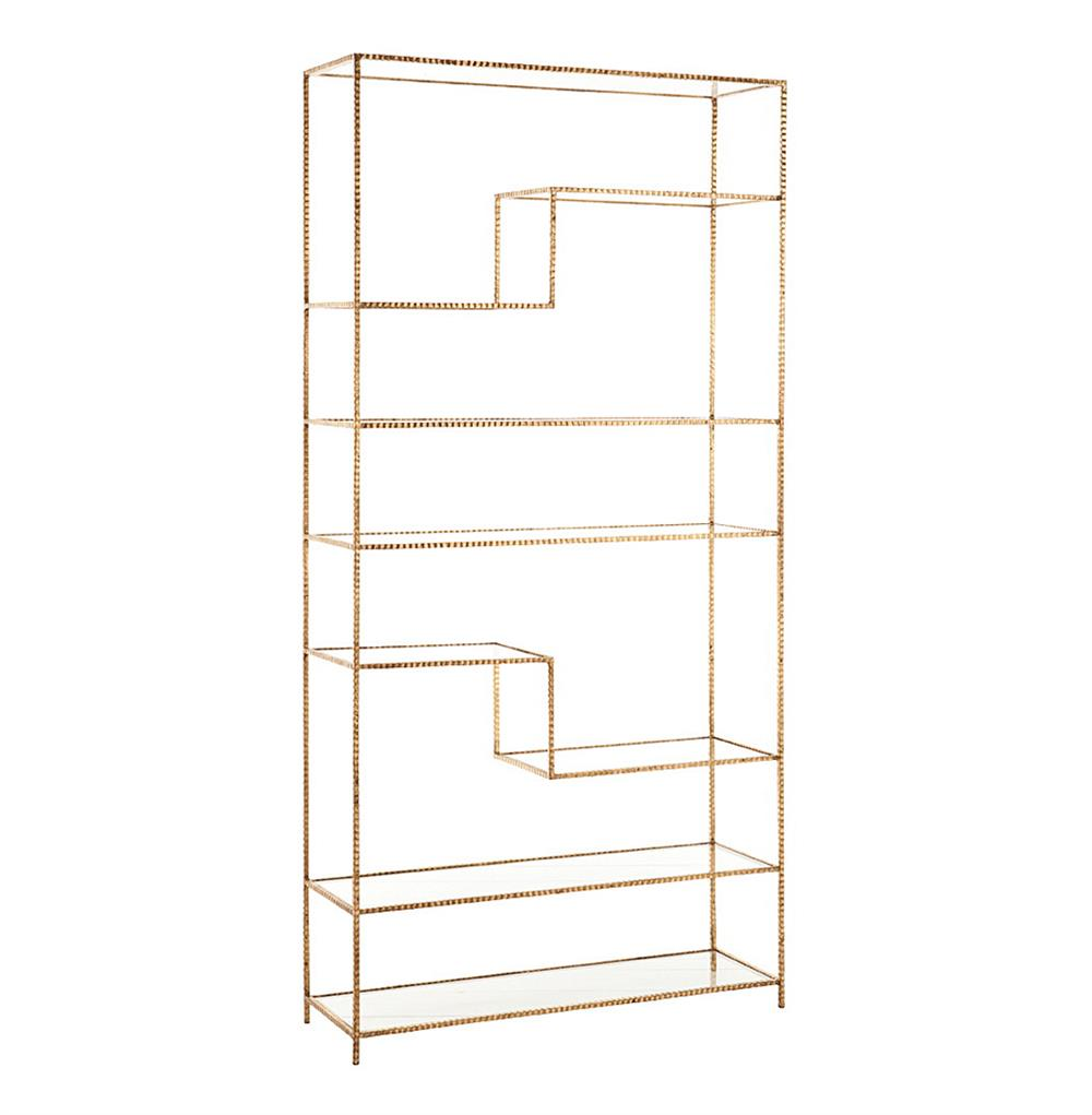 spray ikea shelving an painting painted unit paint vittsjo bookcase pin gold sprays and