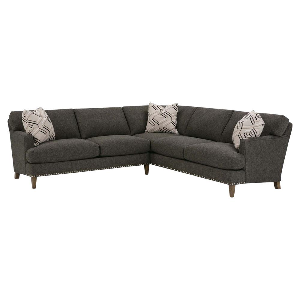 camden modern classic dark grey upholstered nailhead trim rh kathykuohome com