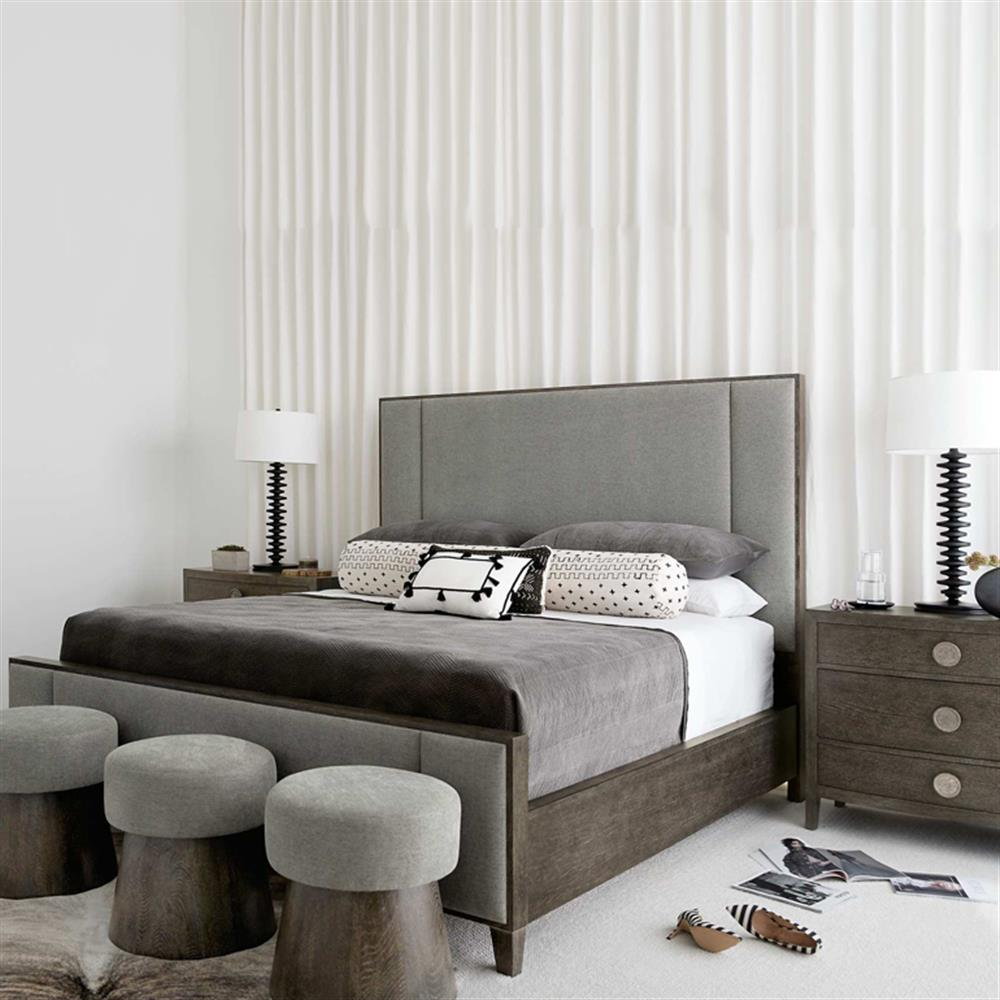 Masculine Vintage Bedroom: Landon Modern Classic Masculine Bedroom Collection