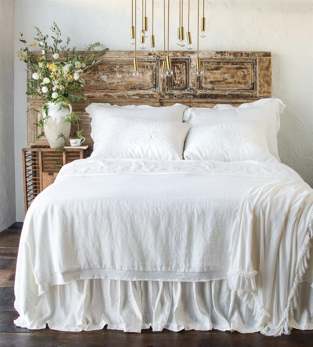 Bella Notte Seville French Country Linen Bedding Collection