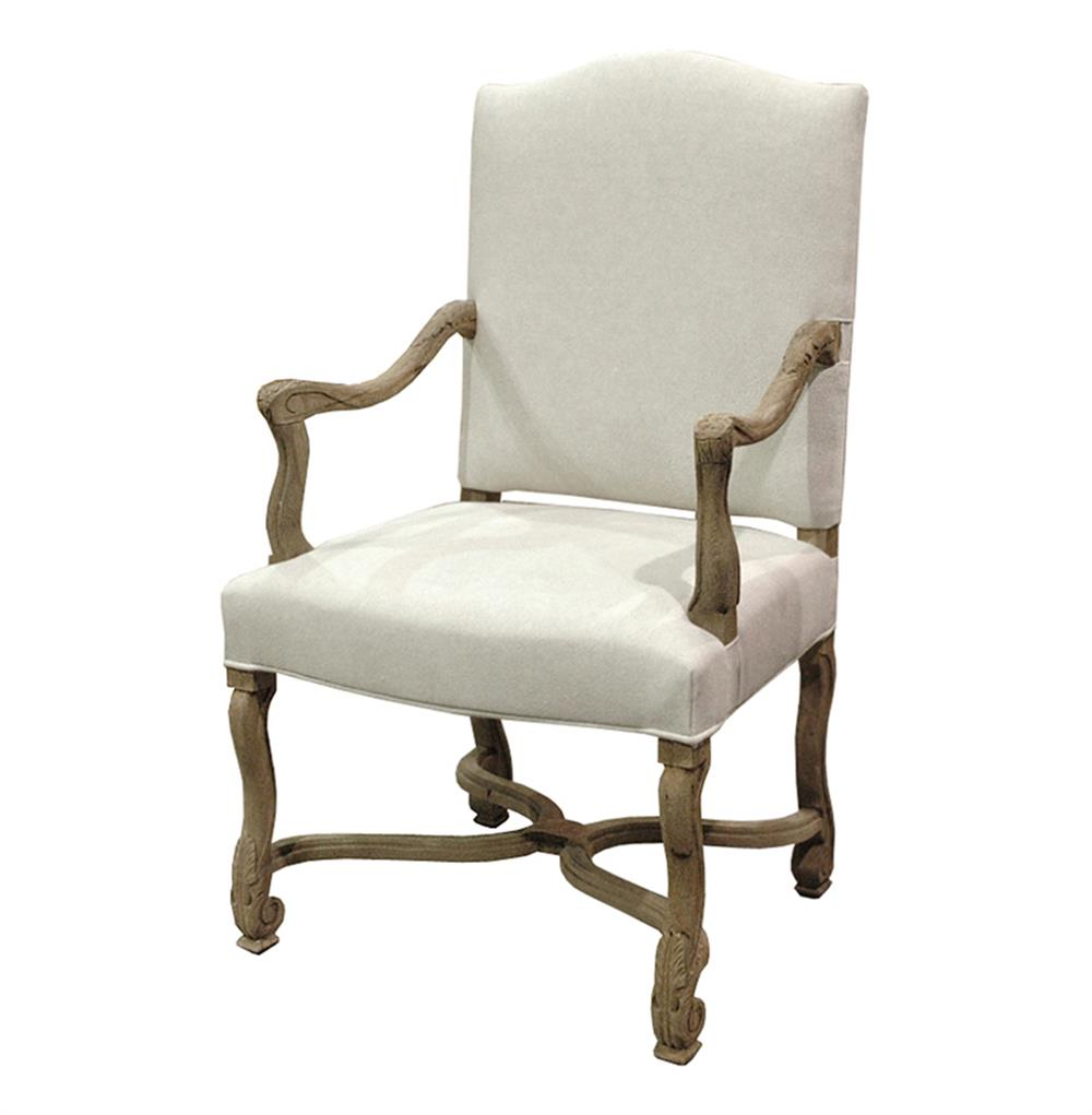 Dafny French Country Empire Camel Back Dining Arm Chair  : product4470 from www.kathykuohome.com size 1000 x 1021 jpeg 51kB