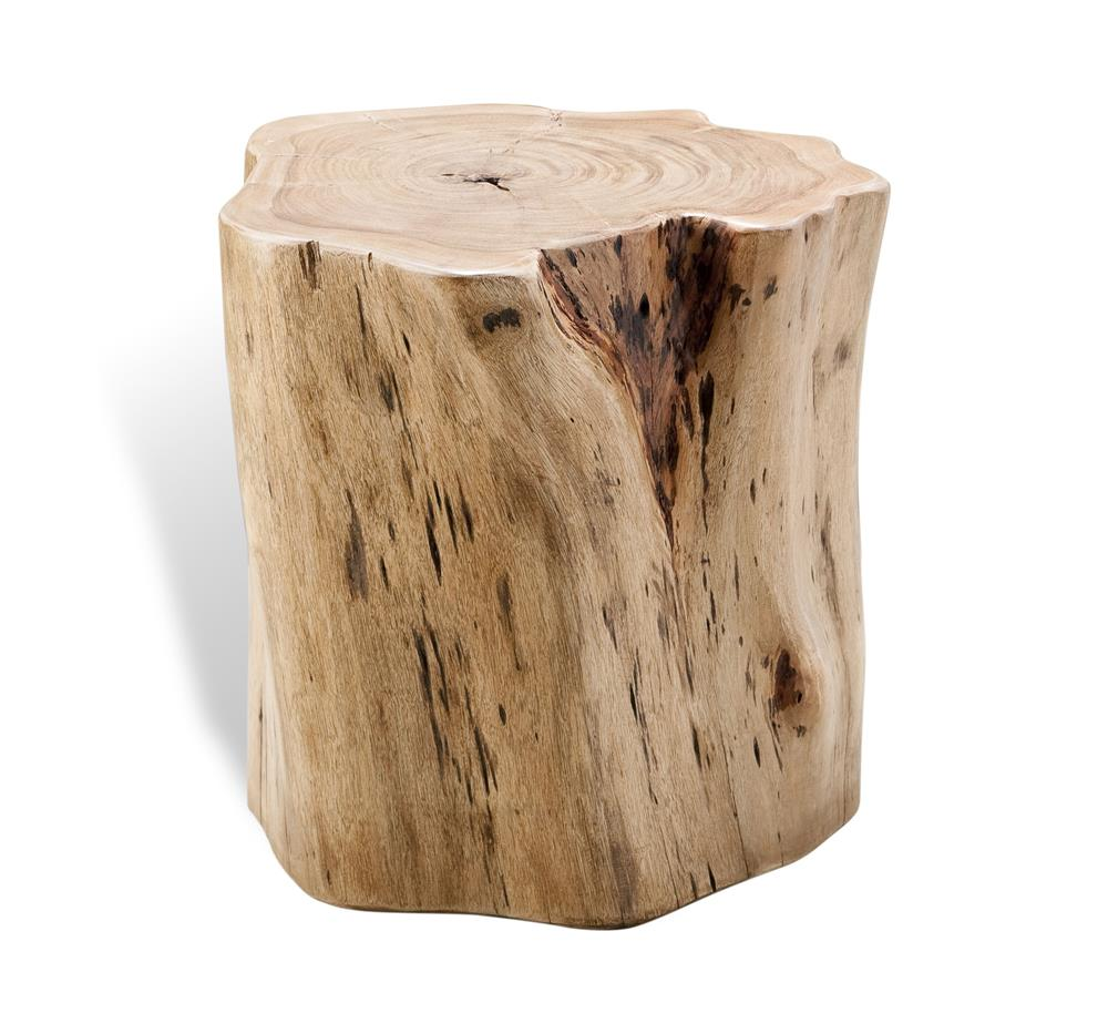 Buckley Forest Rustic Wood Stump Stool