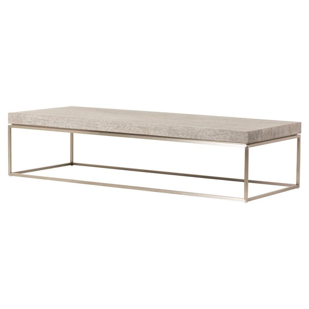 Driftwood Coffee Table.Holly Modern Classic Light Bronze Grey Driftwood Coffee Table