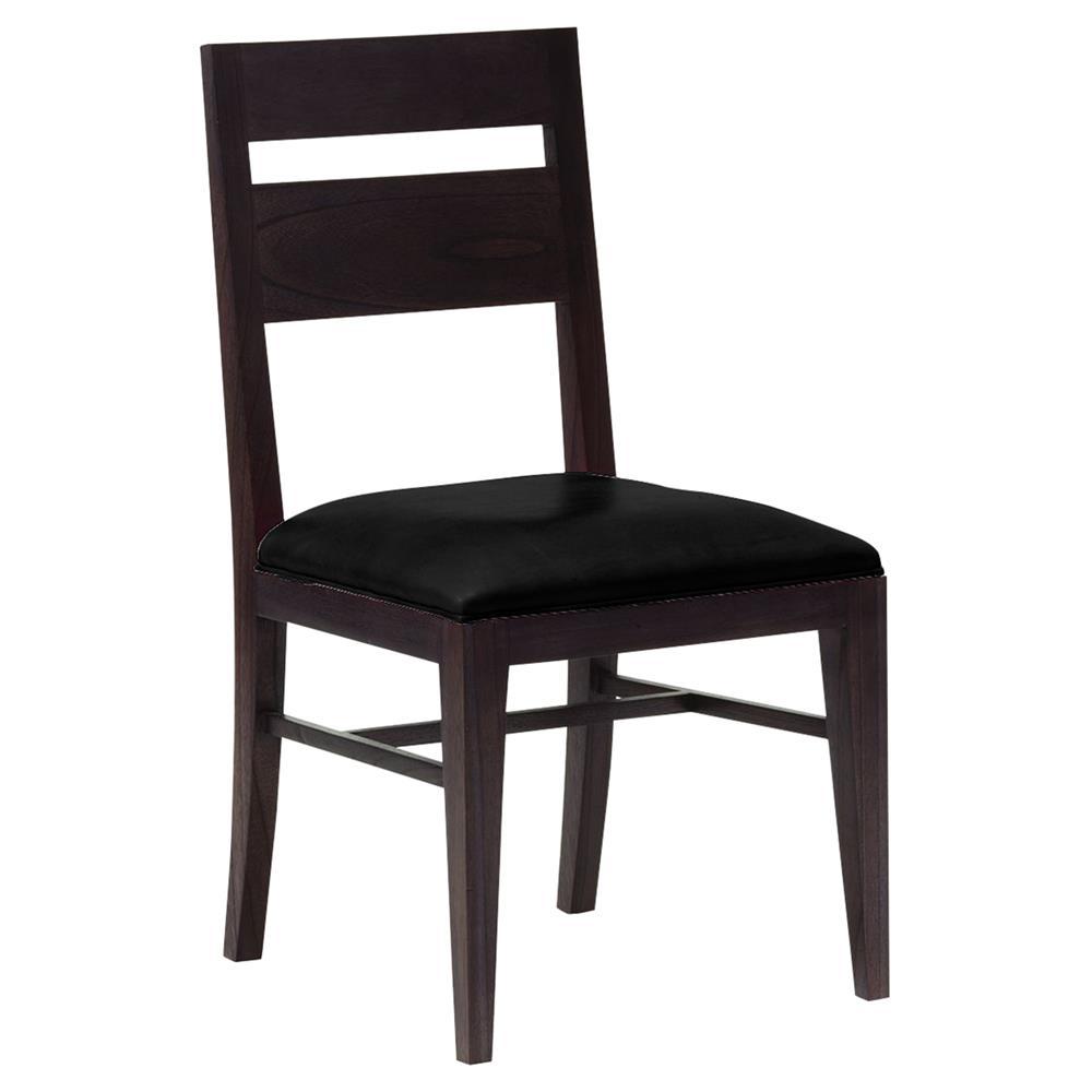 Oly Studio Carl Modern Classic Black Wood Dining Side Chair