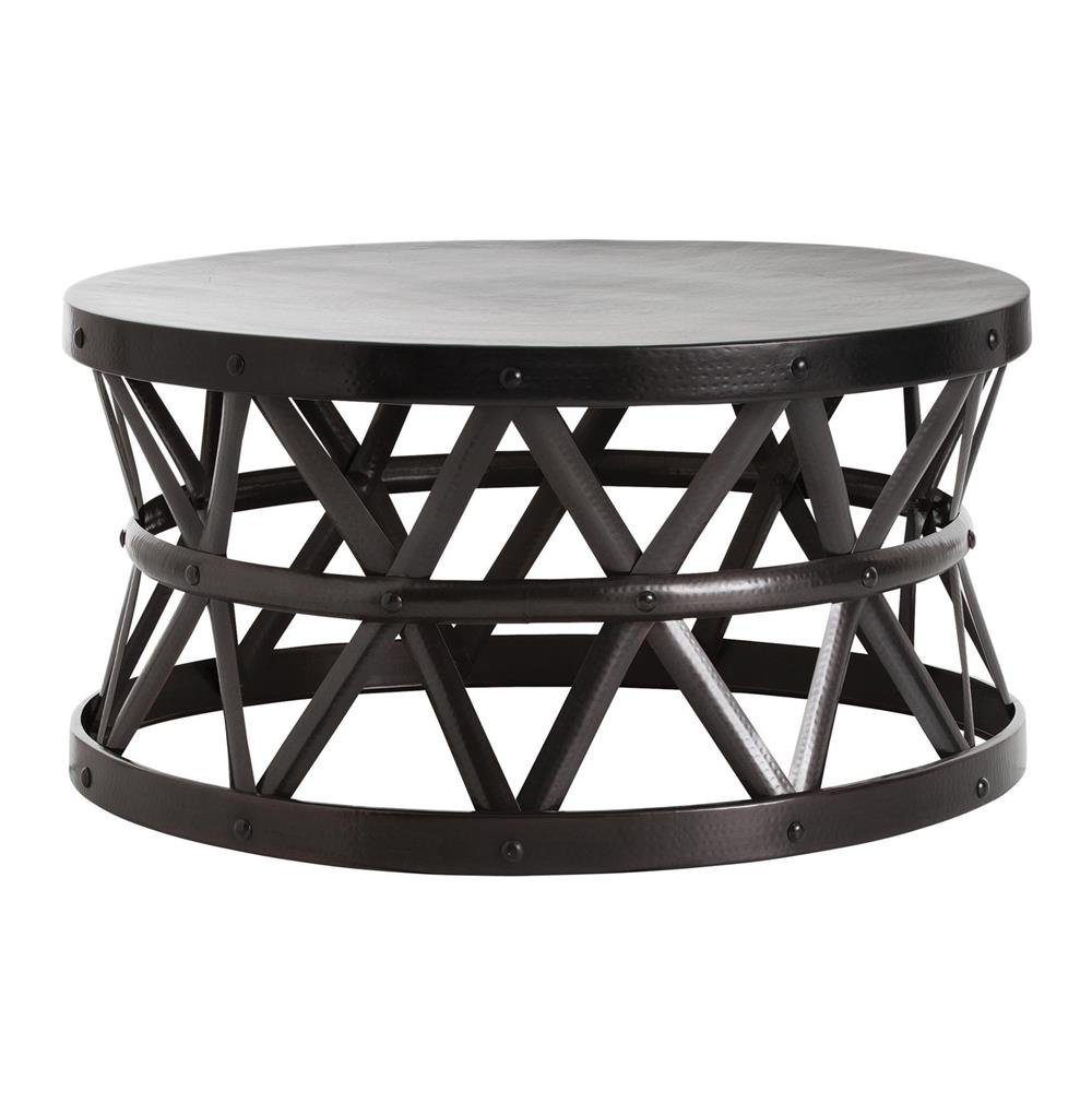Stanley costello english modern bronze coffee table kathy kuo home Bronze coffee tables