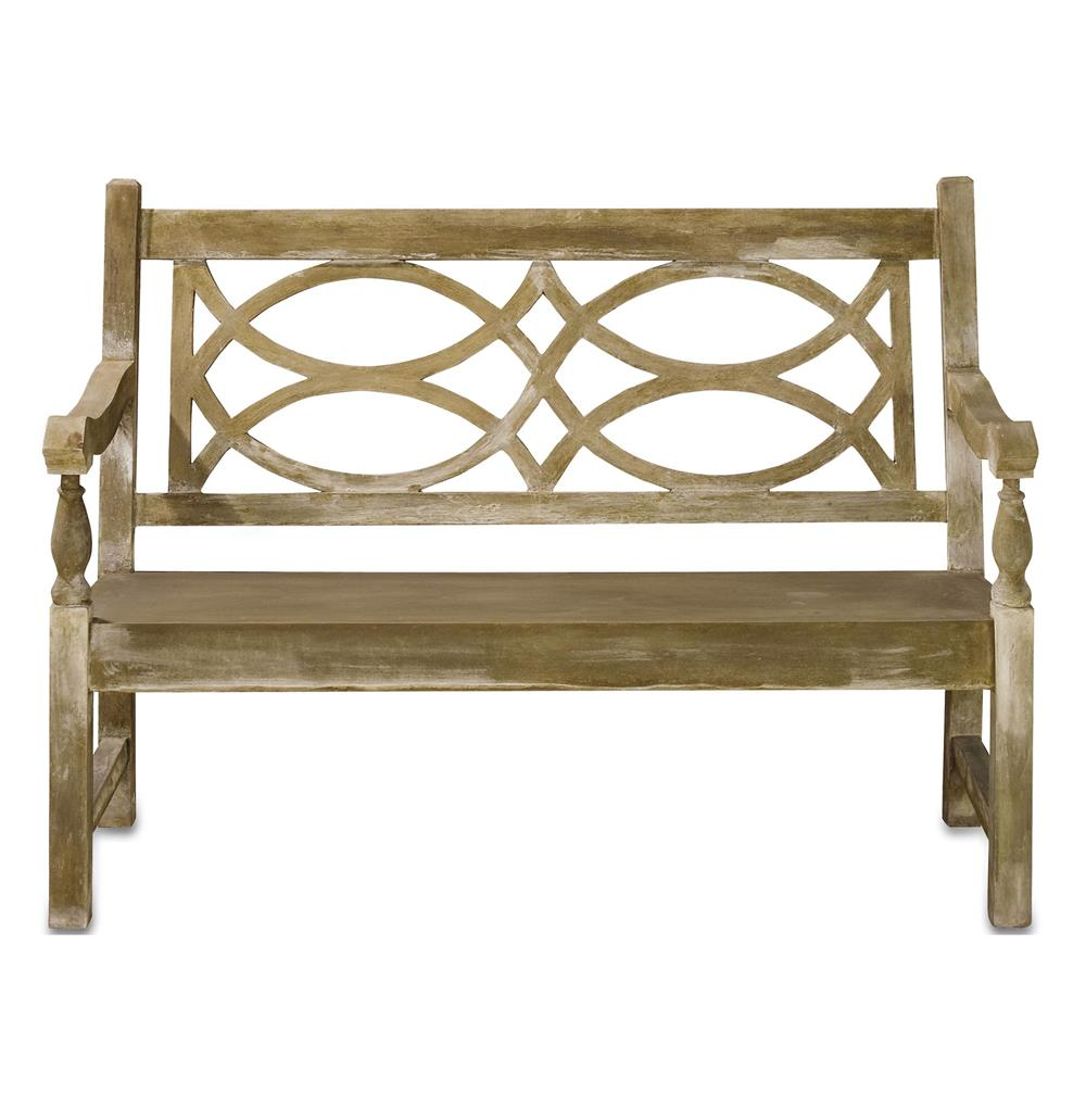 Traditional Classic English Garden Outdoor Bench Kathy