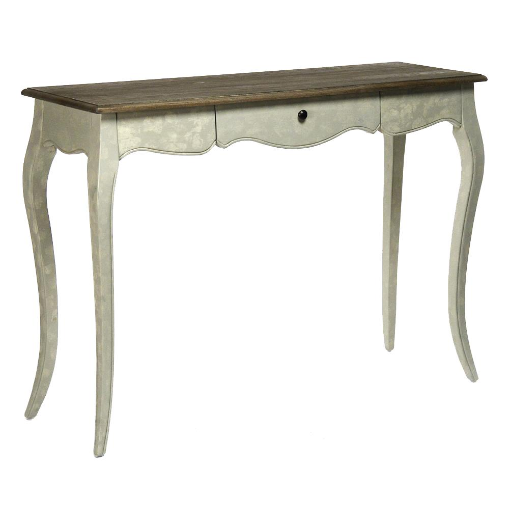 console tables french country rochelle narrow curved leg console table