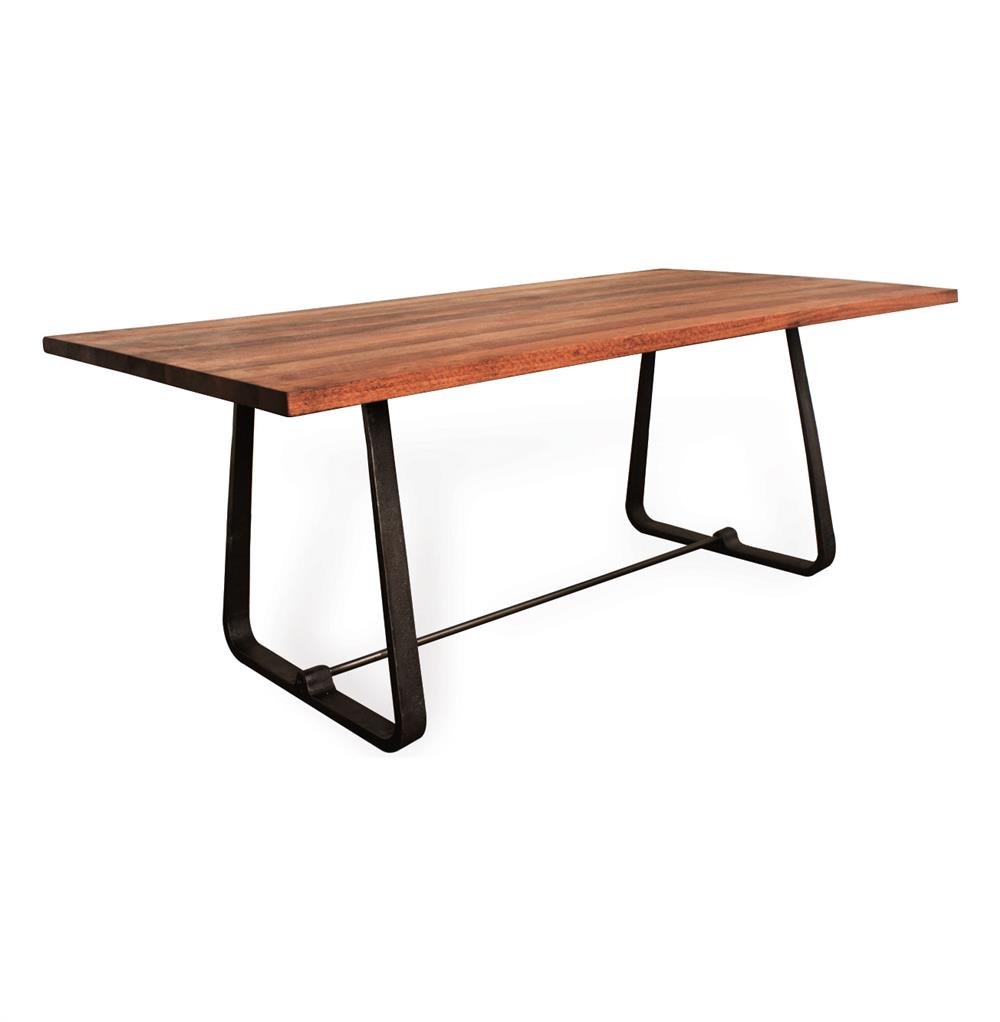Westin industrial reclaimed wood modern dining table for New dining table