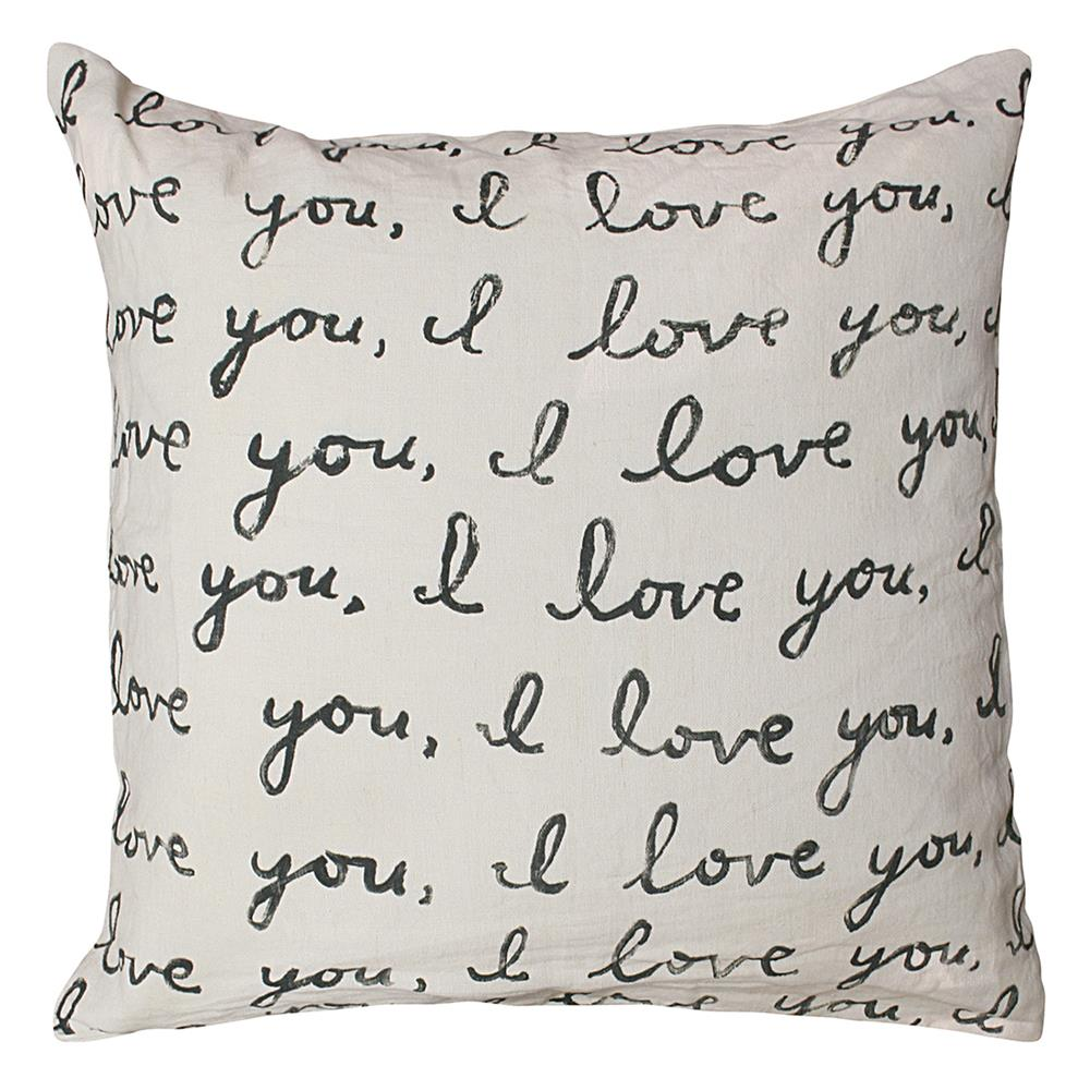 24x24 throw pillow oversized letters for you love linen down throw pillow 24x24 kathy kuo home