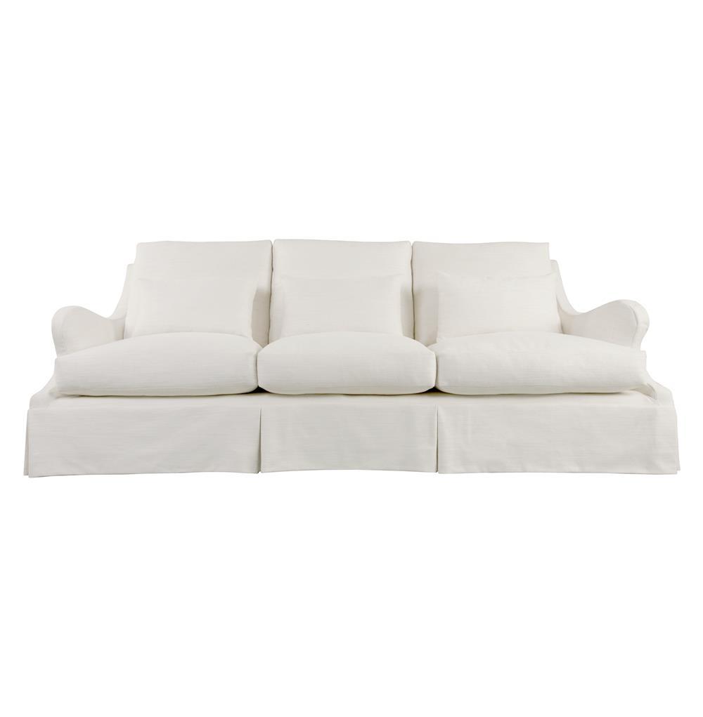 fontaine modern loft hollywood regency retro sofa kathy kuo home. Black Bedroom Furniture Sets. Home Design Ideas