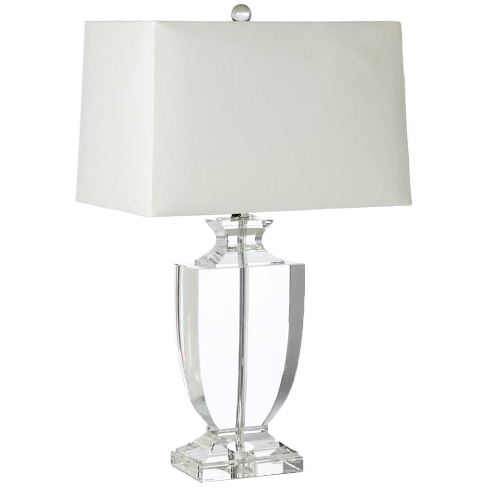 Crystal Chandelier Table Lamps: Kedrova Hollywood Regency Crystal Urn Table Lamp