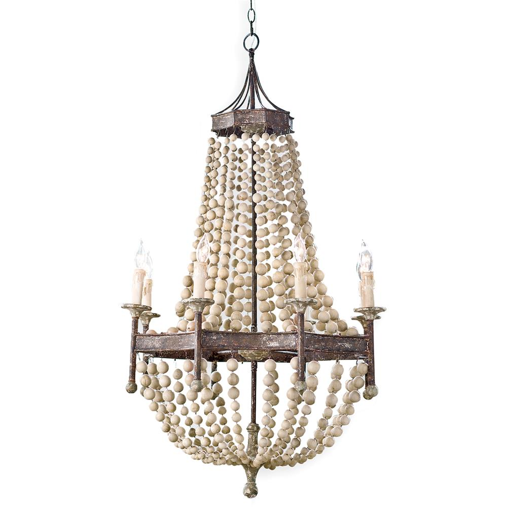 Maroma coastal beach scalloped wood bead metal chandelier kathy maroma coastal beach scalloped wood bead metal chandelier kathy kuo home arubaitofo Image collections