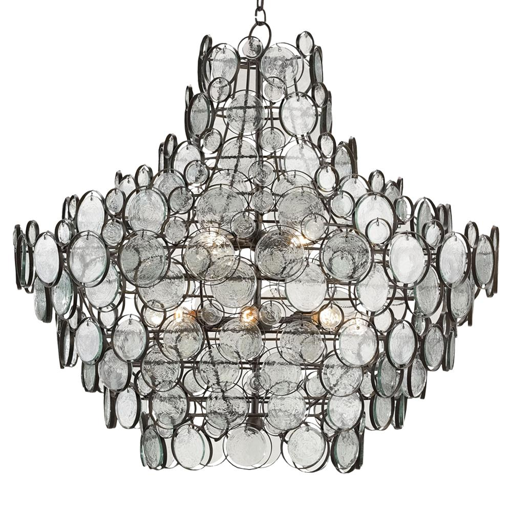 Iona coastal style recycled glass medallion iron 12 light chandelier iona coastal style recycled glass medallion iron 12 light chandelier kathy kuo home aloadofball Choice Image