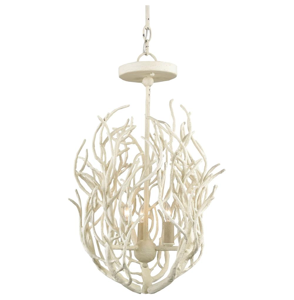 Delray white coral coastal beach style 3 light chandelier kathy delray white coral coastal beach style 3 light chandelier kathy kuo home mozeypictures Image collections