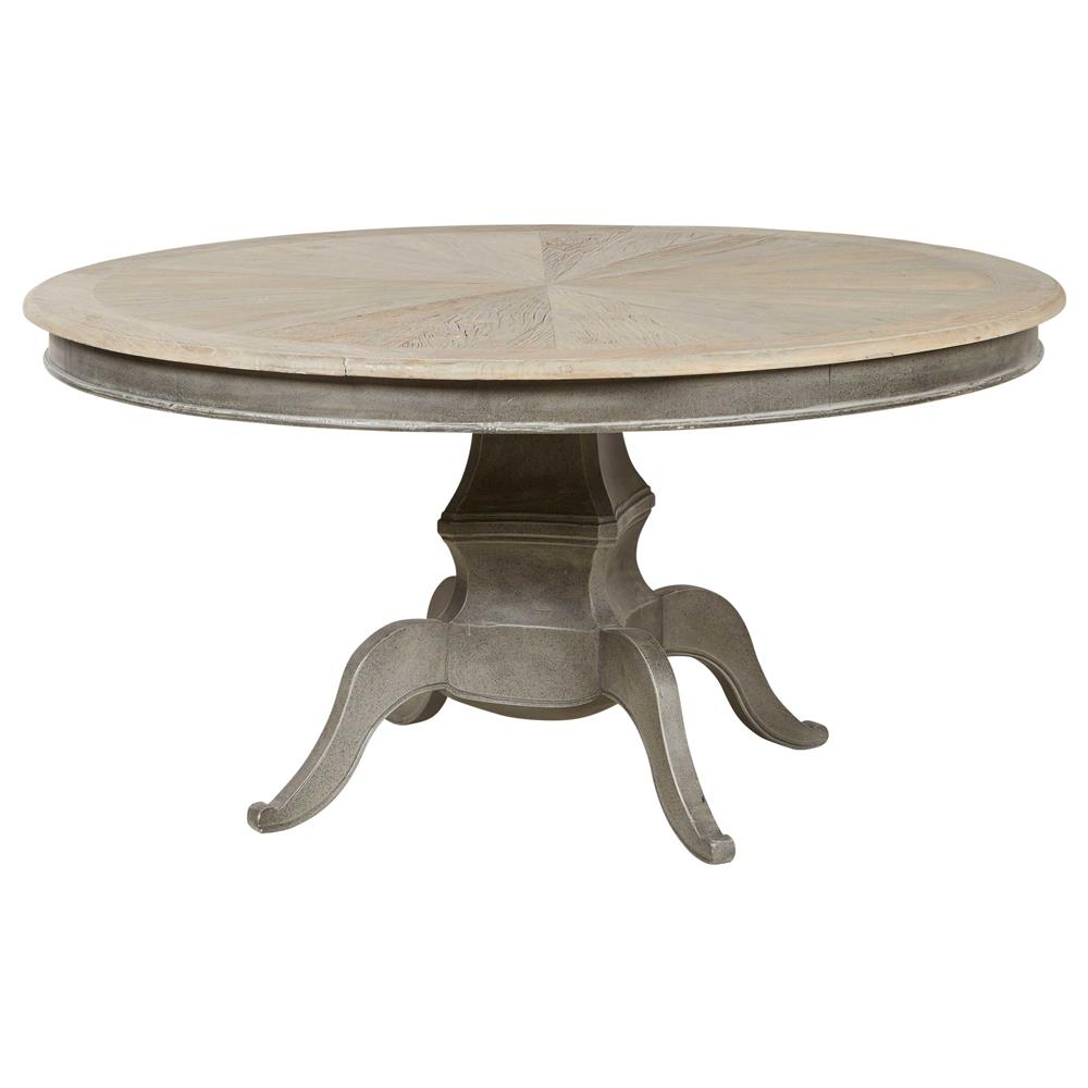 Dining Tables Reve French Country Reclaimed Elm Wood Dining Table
