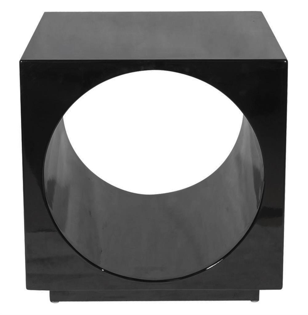 Modern black side table - Modern Black Side Table 5