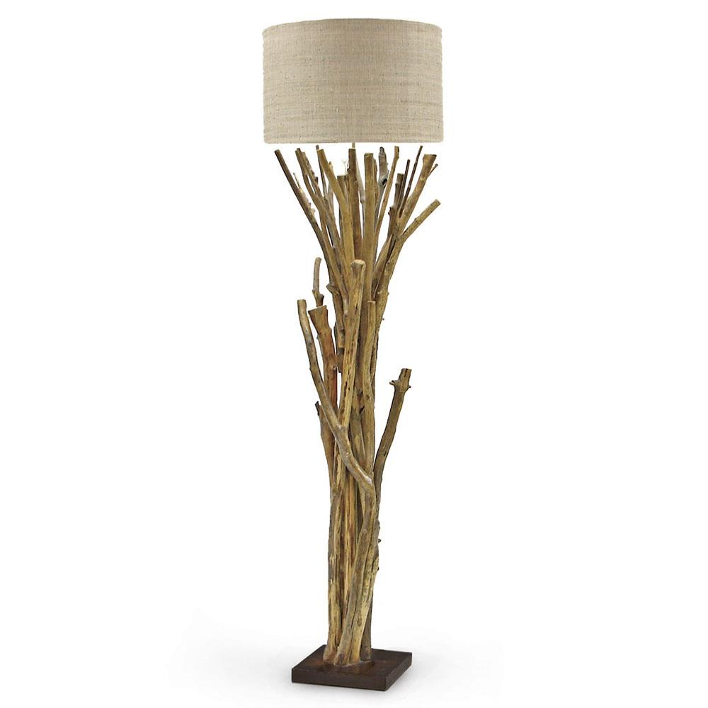 Palecek natural branch lodge bundled branches floor lamp 20 inch shade palecek natural branch lodge bundled branches floor lamp 20 inch shade kathy kuo home mozeypictures Choice Image