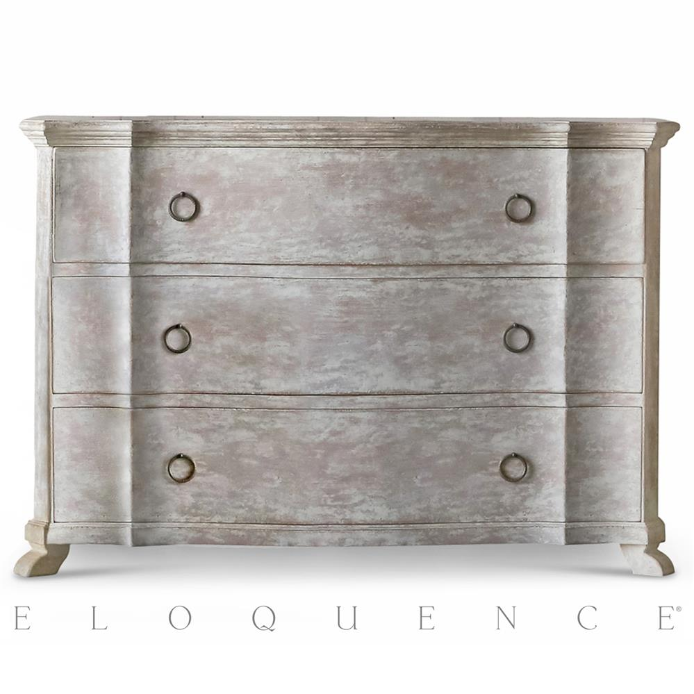 Eloquence grande bordeaux commode in beach house natural kathy kuo home - Camif commode ...