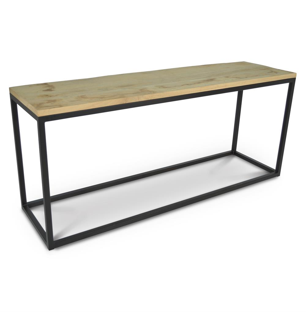 Palecek Soma Console Industrial Loft Reclaimed Wood And