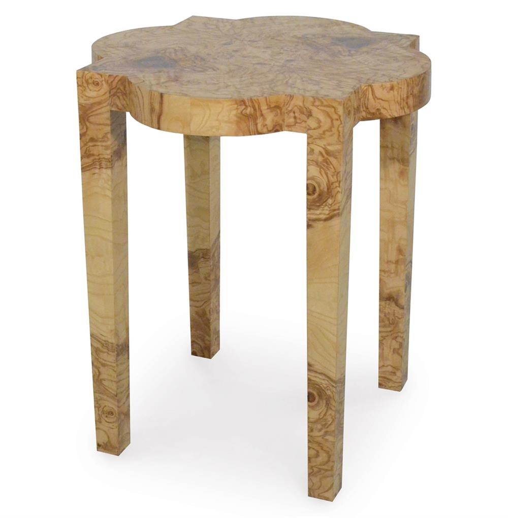 Palecek olive burl rustic lodge rustic side table kathy for Rustic side table