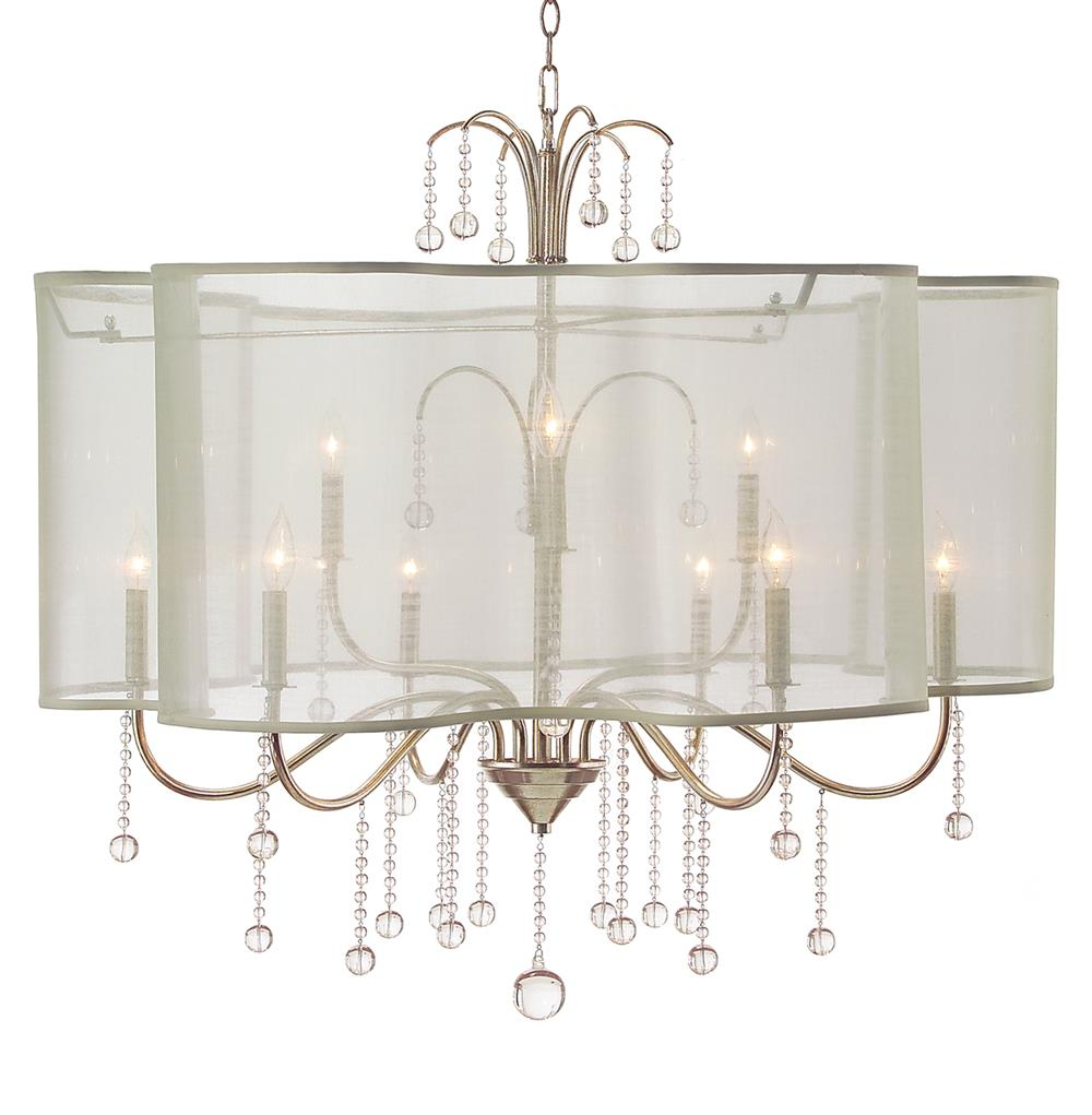 Denise hollywood regency champagne silver crystal 9 light denise hollywood regency champagne silver crystal 9 light chandelier kathy kuo home mozeypictures Gallery