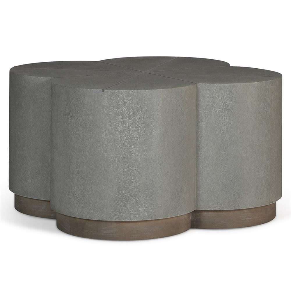 robinson industrial loft grey shagreen ottoman coffee table. Black Bedroom Furniture Sets. Home Design Ideas