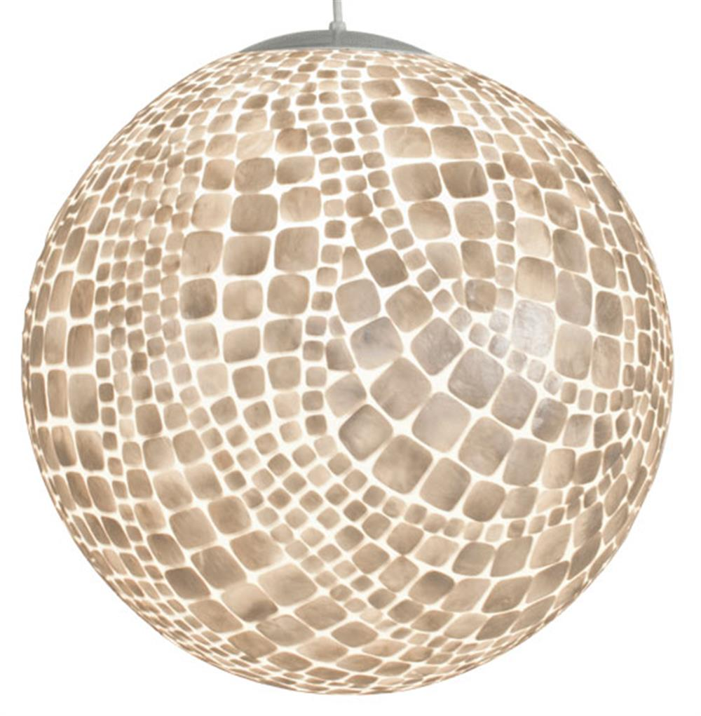 cobblestone coastal beach capiz shell globe pendant. Black Bedroom Furniture Sets. Home Design Ideas