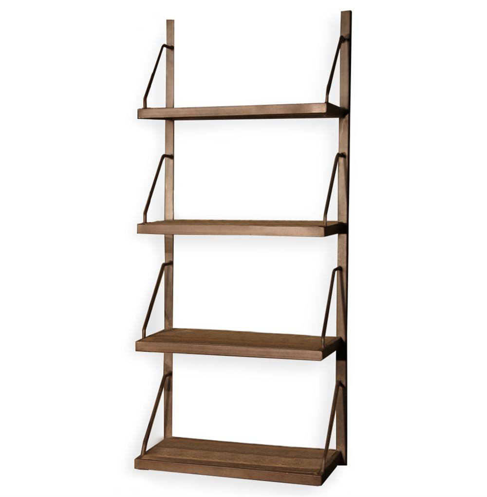 Rennie industrial reclaimed elm iron wall shelf 59 inch kathy rennie industrial reclaimed elm iron wall shelf 59 inch kathy kuo home amipublicfo Image collections