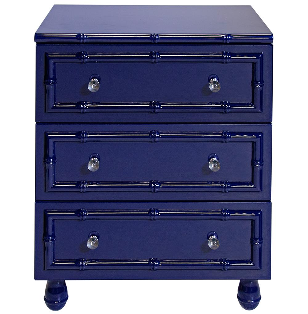 Timber Global Bazaar Navy Blue Lacquer Bamboo Nightstand. Cabinet Microwave. New Cabinets. Grey And White Kitchens. Sliding Wood Doors. Light Blue Living Room. Engineered Vs Hardwood. How To Clean Your Washing Machine. Ornamental Light Granite