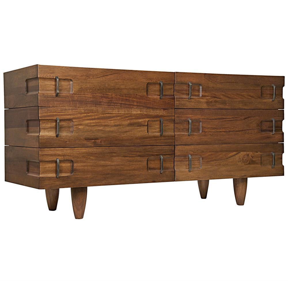 radley industrial loft modern wood metal sideboard dresser. Black Bedroom Furniture Sets. Home Design Ideas