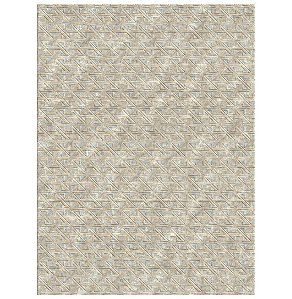 valencia beige hand knotted tibetan wool rug