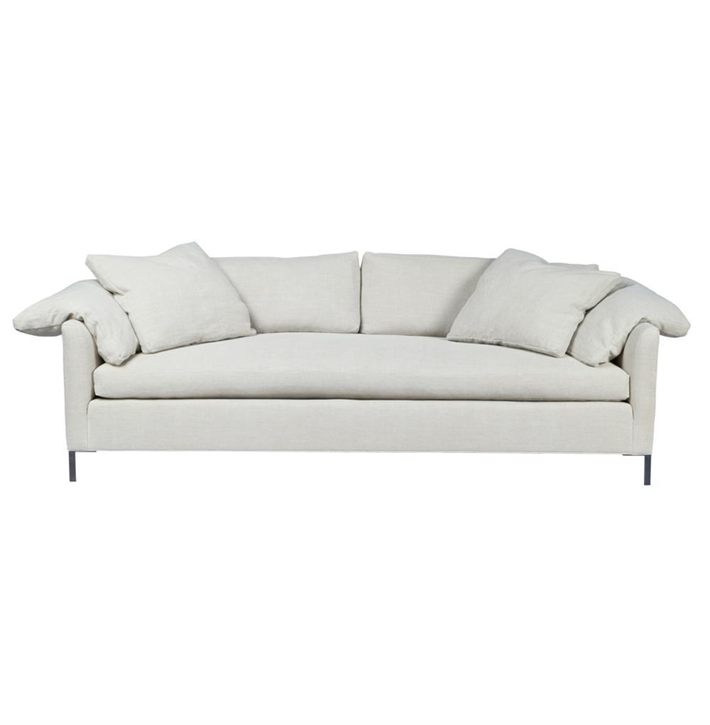 Cisco brothers radley modern classic feather down silver for Sofa modern classic