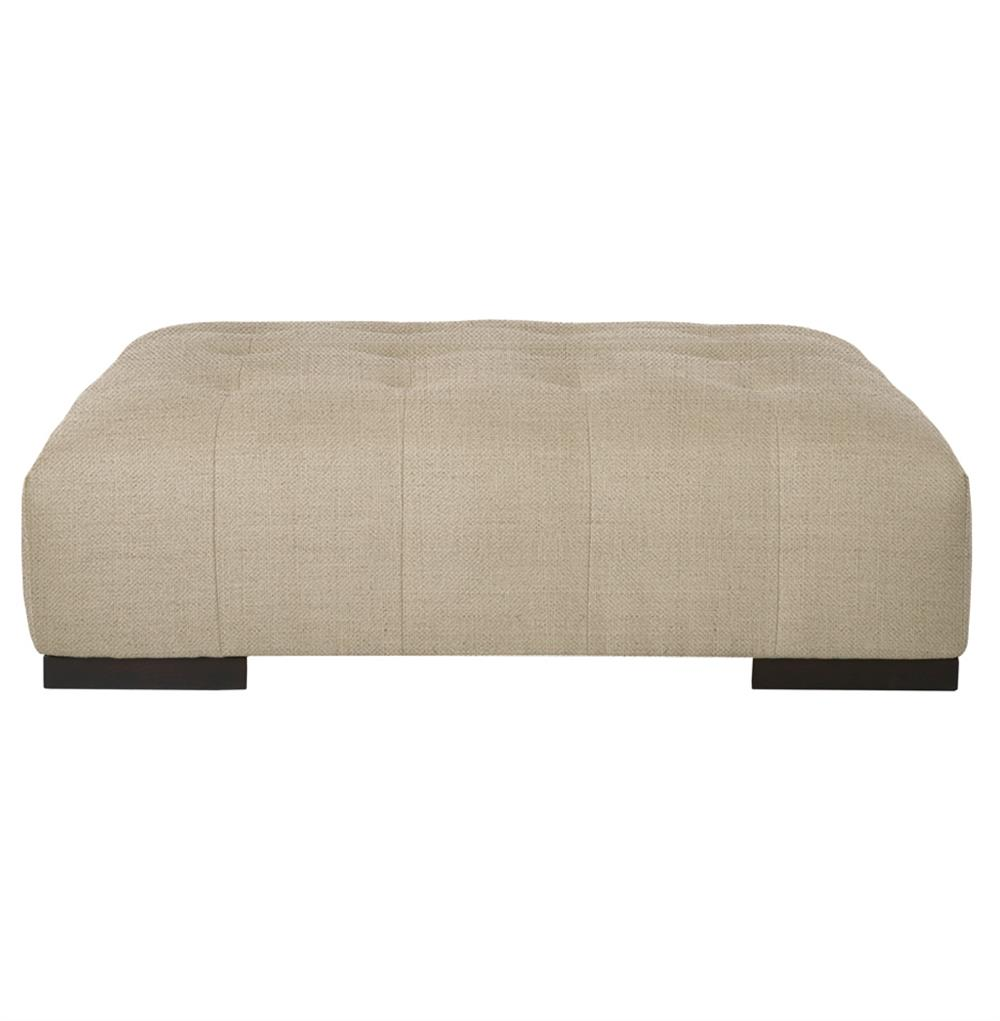 Cisco Brothers Arden Modern Classic Tufted Beige Linen