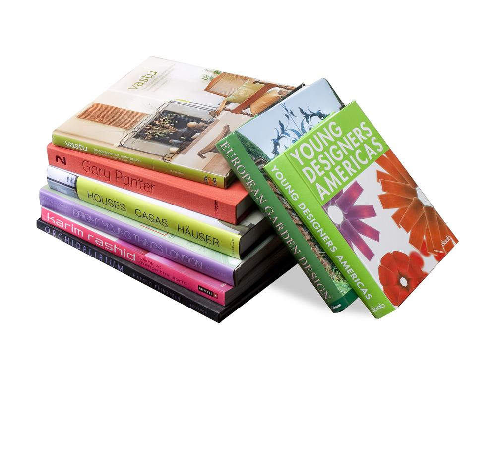 Design aficionado coffee table books modern set of 8 for Modern home decor books
