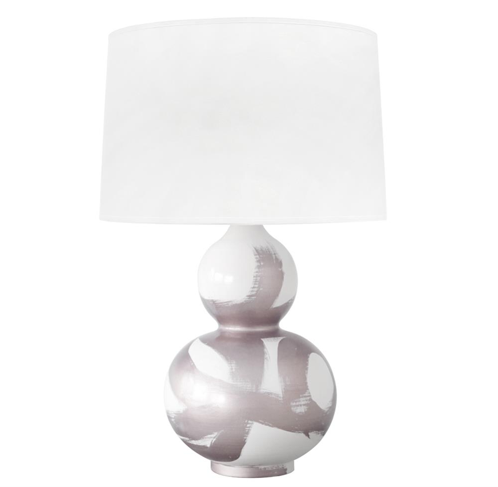 Hailey hand painted gourd shape brushstroke silver table lamp hailey hand painted gourd shape brushstroke silver table lamp kathy kuo home geotapseo Image collections