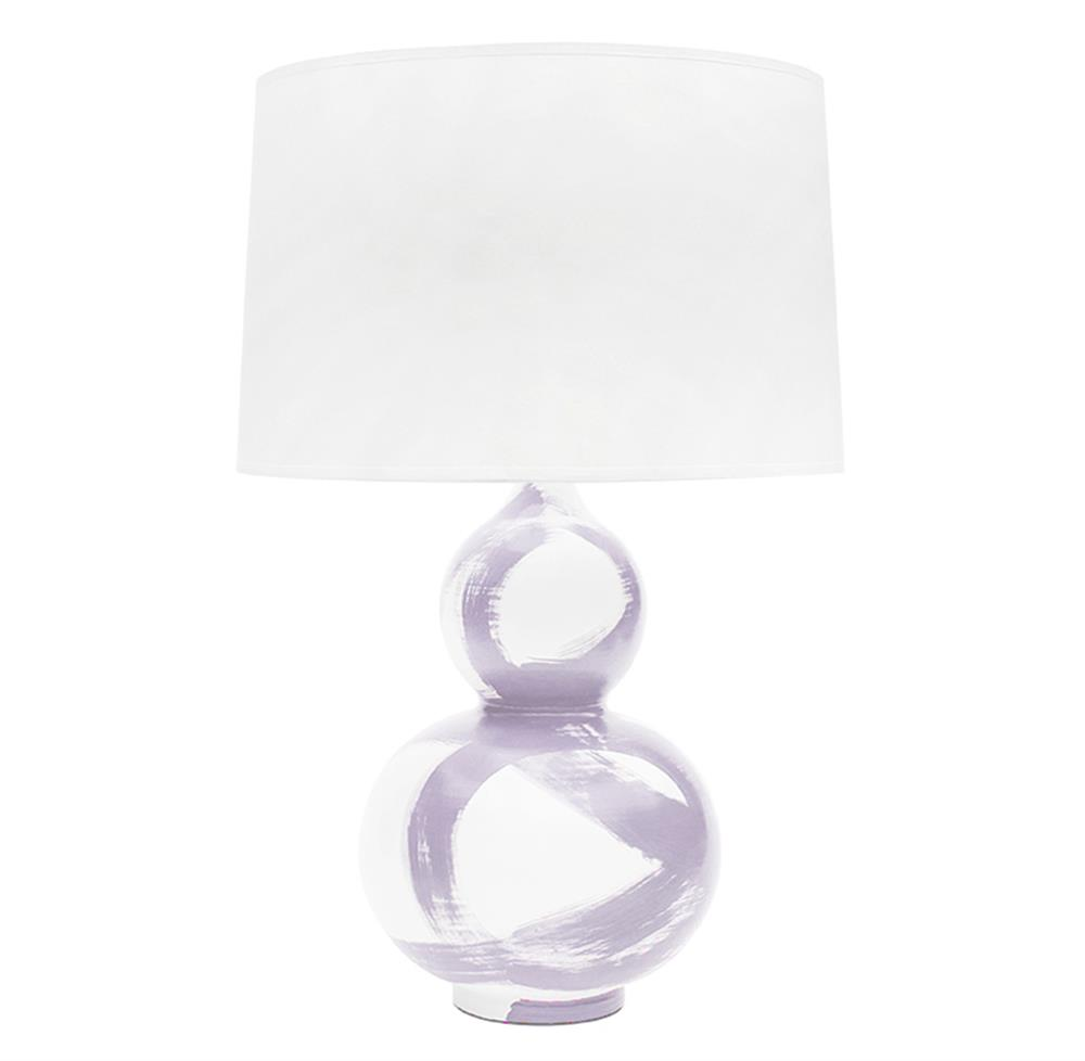 Hailey hand painted gourd brushstroke lilac table lamp kathy kuo hailey hand painted gourd brushstroke lilac table lamp kathy kuo home geotapseo Image collections