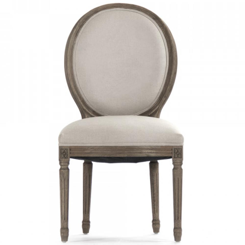 round back dining chair. Pair Madeleine French Country Laurel Leaf Oval Back Medallion Dining Chair | Kathy Kuo Home Round