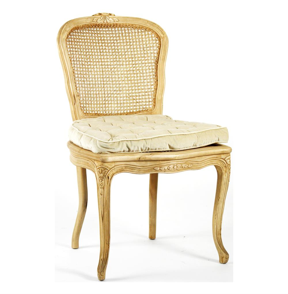 Caned Back French Country Annette Dining Chair Kathy Kuo
