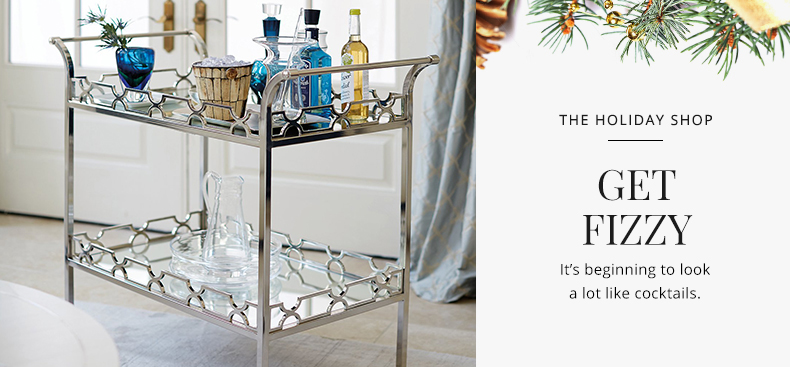 The Holiday Shop - Get Fizzy | Kathy Kuo Home