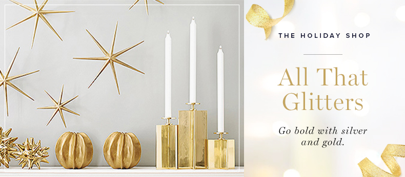 The Holiday Shop - All That Glitters | Kathy Kuo Home