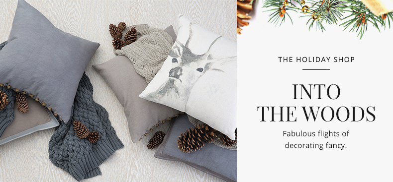 The Holiday Shop - Into The Woods | Kathy Kuo Home